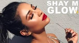 shay mitc inspired spring glow makeup tutorial bronze skin glossy lids eman