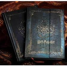 vine style harry potter notebook diary book hard cover a great gift for that harry potter fan pages have that vine style touch too