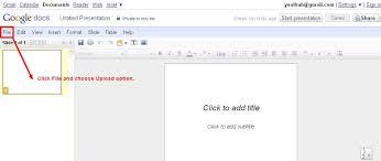 Google Docs Powerpoint Embedding Powerpoint Using Google Docs Wikispaces Job Aids