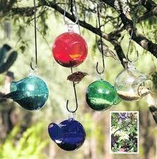 glass bird feeders seed drop blown glass bird feeder parasol assorted colors glass bird feeders make