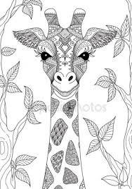 Giraffe Tattoo Stockvectors Rechtenvrije Giraffe Tattoo