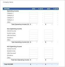 Free Printable Profit And Loss Statement Form It Example Profit And Loss Spreadsheet Excel Template Profits Losses