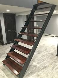 basement stairs. Basement Stairs E
