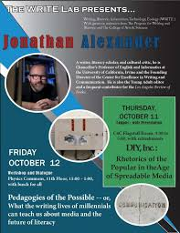 The Write Lab In The Pwr Brings Jonathan Alexander Program For