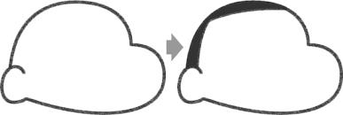 クレヨンしんちゃんのイラストの簡単な書き方