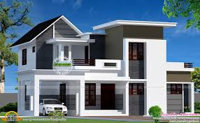 Neat House Designs Neat Looking Mixed Roof Home Kerala Home Design And Floor