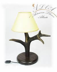 Nachtkastje Lamp Hert Etsy