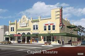 a rendering shows the proposed capitol theatre renovation which officials expect to be pleted by