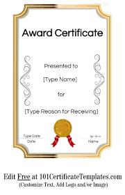 Achievement Awards Certificates Templates Certificate Template Free To Download New Achievement