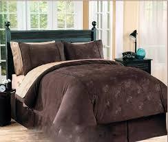 chocolate brown bedding set