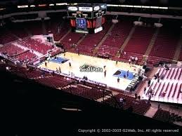 Target Center Row Chart Target Center Seat View View Section Row 8 Seat 6 Level