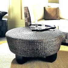 outdoor wicker storage coffee table wicker storage ottoman wicker storage ottoman round rattan ottoman coffee table