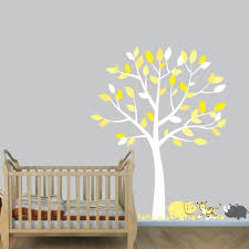gray wall decals safari with tiger wall art for nursery