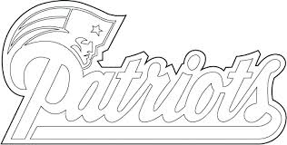 nfl coloring pages coloring pages free logos cool logo page football