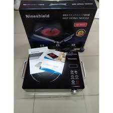 Bếp hồng ngoại - Bếp hồng ngoại đơn 2 vòng nhiệt Nineshield KB-8601 - Bếp  điện kết hợp Nhà sản xuất Nine shield