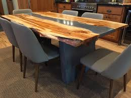 custom made solid wood dining table sets