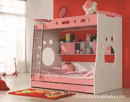 Top Childrens Bunk Beds With Slide With White Wooden Bunk Bed With