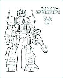 Transformers Coloring Sheet Bumblebee Transformer Coloring Page