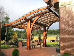 wall mounted pergolas fresh decoration pergola wooden for parking lots s line with retractable canopy
