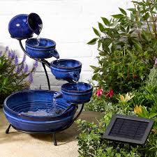 Garden Fountain Marvellous Solar Water Fountains Floating Solar