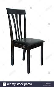 Esszimmer Elegante Stuhl Classic Schwarz Holz Und Leder