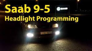 Saab 9 3 Fog Light Bulb Replacement Saab 9 5 Headlight And Foglight Modification Trionic Seven