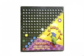 <b>Настольная игра Биплант</b> Эрудит (чёрные фишки) - Интернет ...