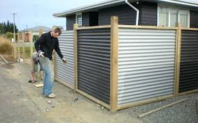 metal privacy fence corrugated metal privacy fence nana s work metal privacy fence designs