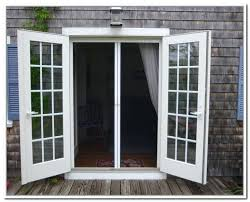 open french doors. french doors open out top screens for that in stylish home decor .