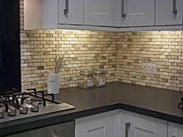 Tile For Kitchens Kitchen Tile Ideas 7 Onyx Subway Backsplash Tile Idea Image Of