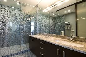 bathroom bathroom tile layout ideas cylinder black classic glass mirror wall mount tub faucet square