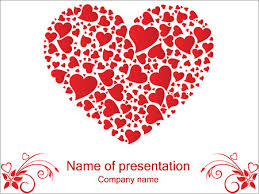 Heart Powerpoint Templates Love Hearts Powerpoint Template Infographics Slides