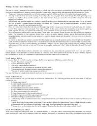 How To Critique An Essay Writing A Summary And Critique Essay The Goal Of Hevey190