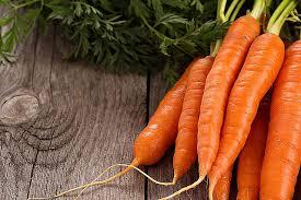 Karotten und gefrorenen süßkartoffeln