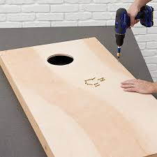 Wooden Bean Bag Toss Game DIY Cornhole Board Plans 48
