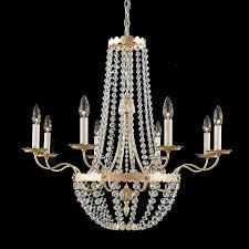 schonbek 5149 early american crystal 8 light up lighting