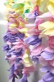 tissue paper flower garland tissue paper colored tissue paper