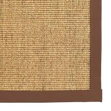 sisal rugs with borders natural sisal area rug with brown color border sisal rugs with pattern sisal rugs with borders