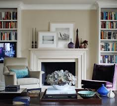 For Living Rooms With Fireplaces Mantel Decorating Ideas Freshome