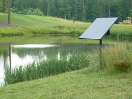 linne industries llc overview pondhawk<sup>&Acirc;&reg;< sup> solar powered pond aeration system