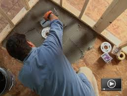 how to install a shower pan replace a stand up shower