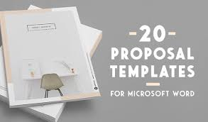 How Do I Find Templates In Word 20 Creative Business Proposal Templates You Wont Believe