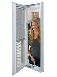 ODL Addon Blinds Door Window Treatments Between The Glass BlindsHome Windows With Built In Blinds