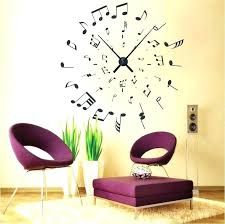 wall clock decals with excellent ideas decal giant personalized wall clock decals