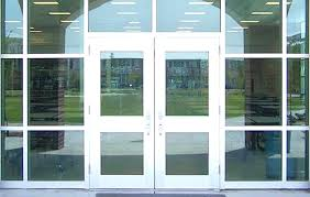 glass business entry doors inspiration of business glass front door and with regard to for decorations