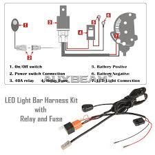 cree light bar wiring diagram cree image wiring auxbeam 50 inch 288w cree curved spot flood off road led light on cree light bar hid driving light wiring diagram