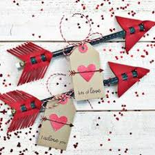 DIY Valentine Date Idea <b>Arrows</b> | DIY Crafts | Valentine day crafts ...
