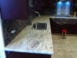 Prefab Granite Kitchen Countertops Stone Smithcom River White 96x26 Granite Countertop