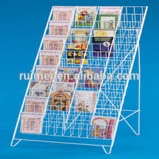 Library Book Display Stands Fashionable Metal Stackable Customized Library Book Display Stand 15