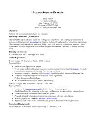 Resume Cover Letter Sample Medical Science Liaison Resume Actuary
